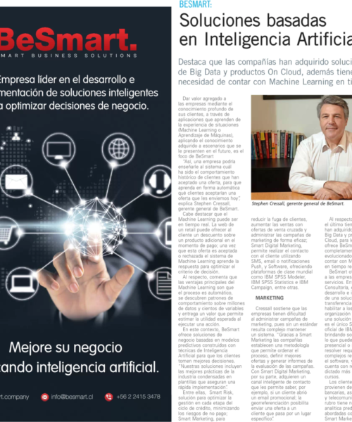 Soluciones basadas en Inteligencia Artificial
