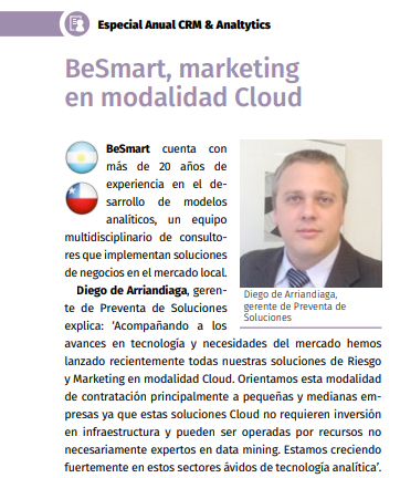 BeSmart, marketing en modalidad Cloud